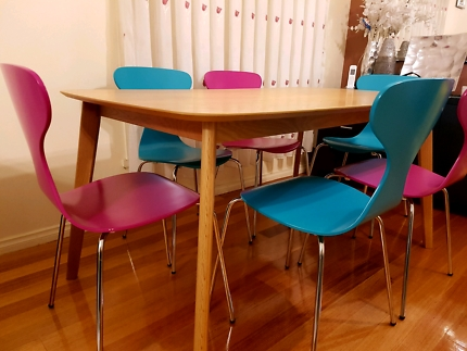 Patterson 6 Piece Dining Sets For Most Recent Dining Table And Chairs (View 10 of 20)