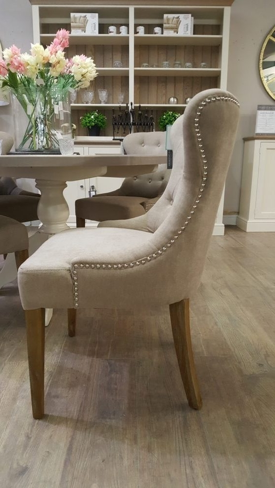 Pavilion Interiors Inside Button Back Dining Chairs (View 17 of 20)