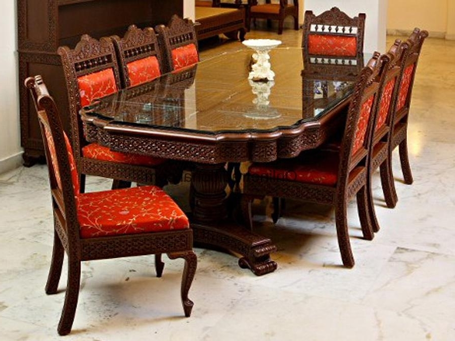 Pearl With Best And Newest Indian Dining Chairs (View 15 of 20)