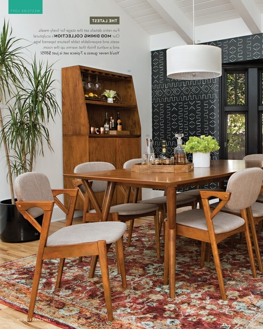Pelennor Extension Dining Tables Inside Famous Great Living Spaces Fall 2017 Mod Extension Dining Table With Regard (View 11 of 20)