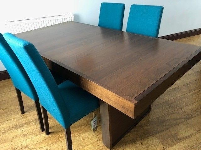 Phoenix Dining Tables Inside Trendy Phoenix Dining Table & 4 Chairs (Ex Sterling Furniture) (View 13 of 20)