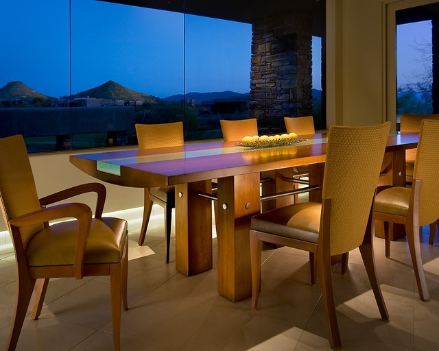 Phoenix Dining Tables Within Most Popular Custom Dining Table – Contemporary – Dining Room – Phoenix – (View 15 of 20)