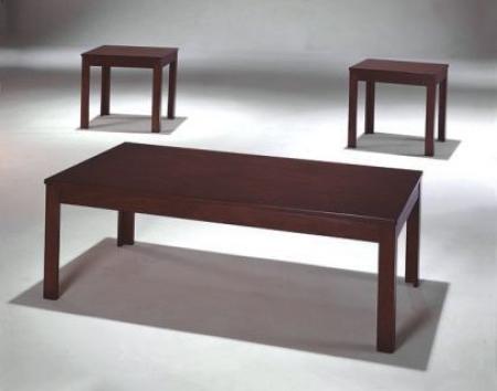 Pierce Dark Brown Wood 3 Piece Table Set (View 15 of 20)