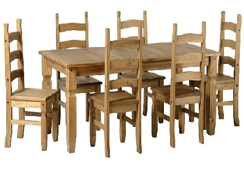 Pine And Other Dining Tables And Chairs – Cooks Furnishings, Carpets For Widely Used Rio Dining Tables (View 6 of 20)