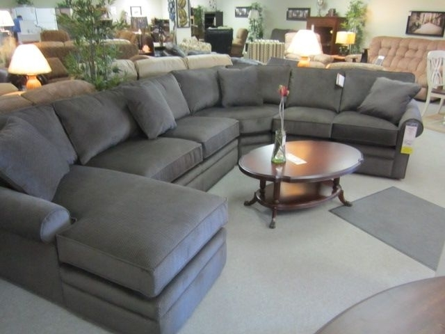 Featured Photo of Collins Sofa Sectionals With Reversible Chaise