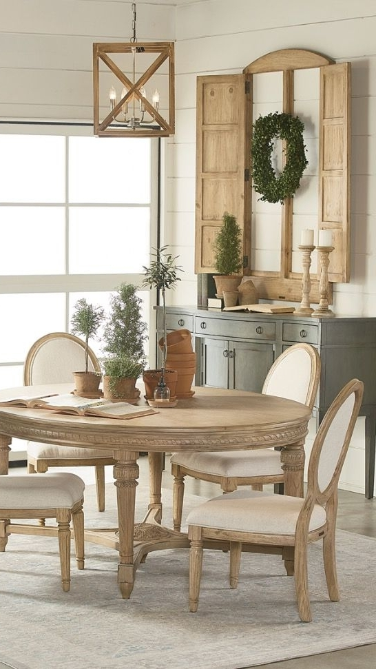 Pinterest For Recent Magnolia Home English Country Oval Dining Tables (View 13 of 20)