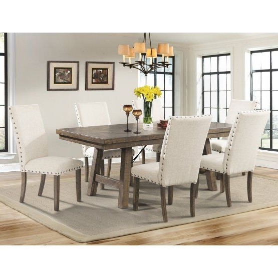Pinterest Inside Most Recently Released Valencia 72 Inch Extension Trestle Dining Tables (View 13 of 20)