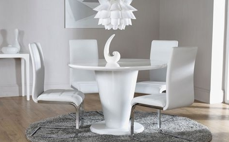 Pinterest Intended For Most Current Round High Gloss Dining Tables (View 9 of 20)