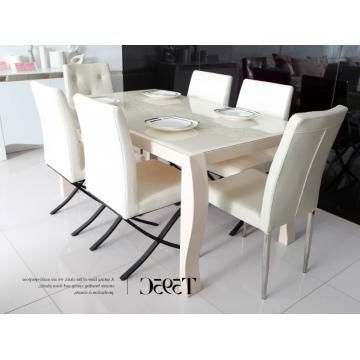 Pinterest Regarding Cream Gloss Dining Tables And Chairs (View 8 of 20)