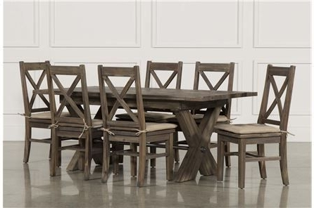 Pinterest Within Caira 9 Piece Extension Dining Sets With Diamond Back Chairs (View 2 of 20)