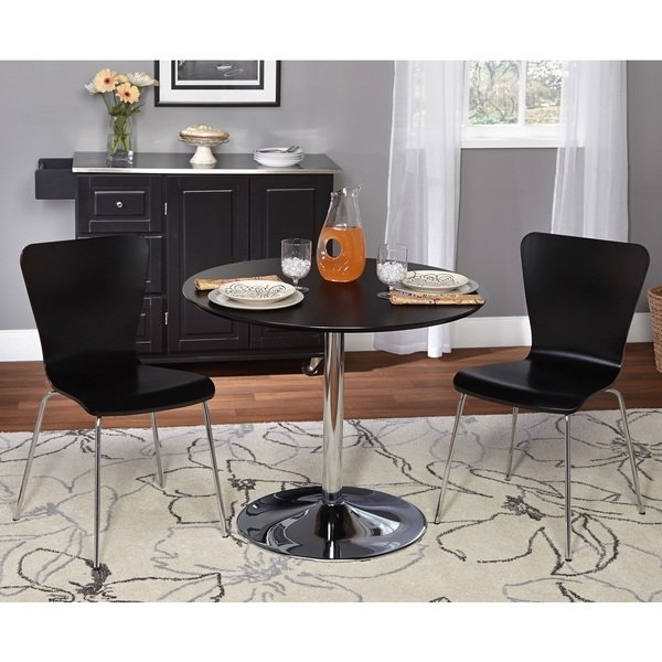 Pisa Dining Tables With Most Current Shop Simple Living 3 Piece Pisa Dining Set – Free Shipping Today (View 15 of 20)