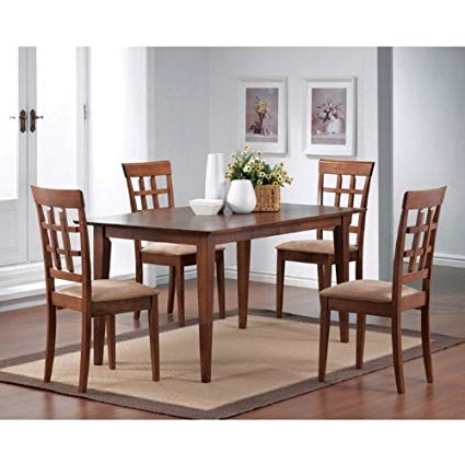 Popular Amazon – Crawford Dining Table Finish: Walnut – Tables Intended For Crawford Rectangle Dining Tables (View 14 of 20)