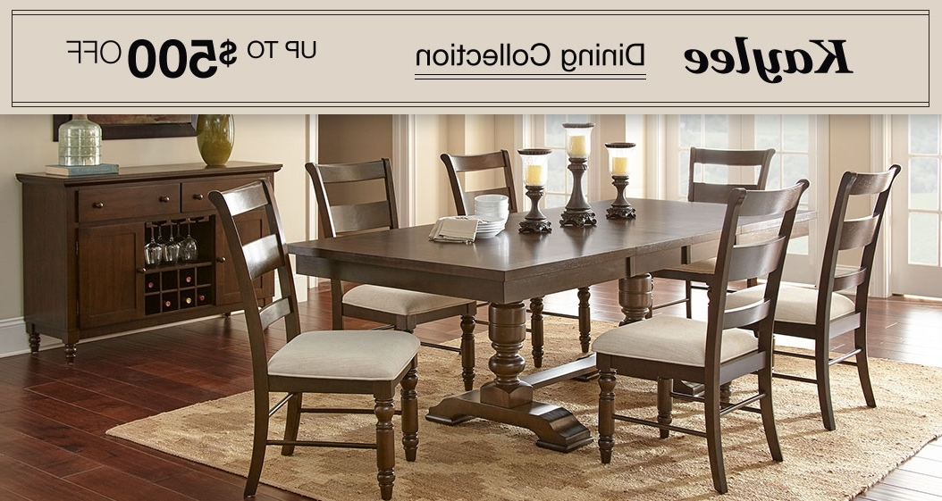 Popular Amos 7 Piece Extension Dining Sets Within Dining & Kitchen Furniture (View 19 of 20)