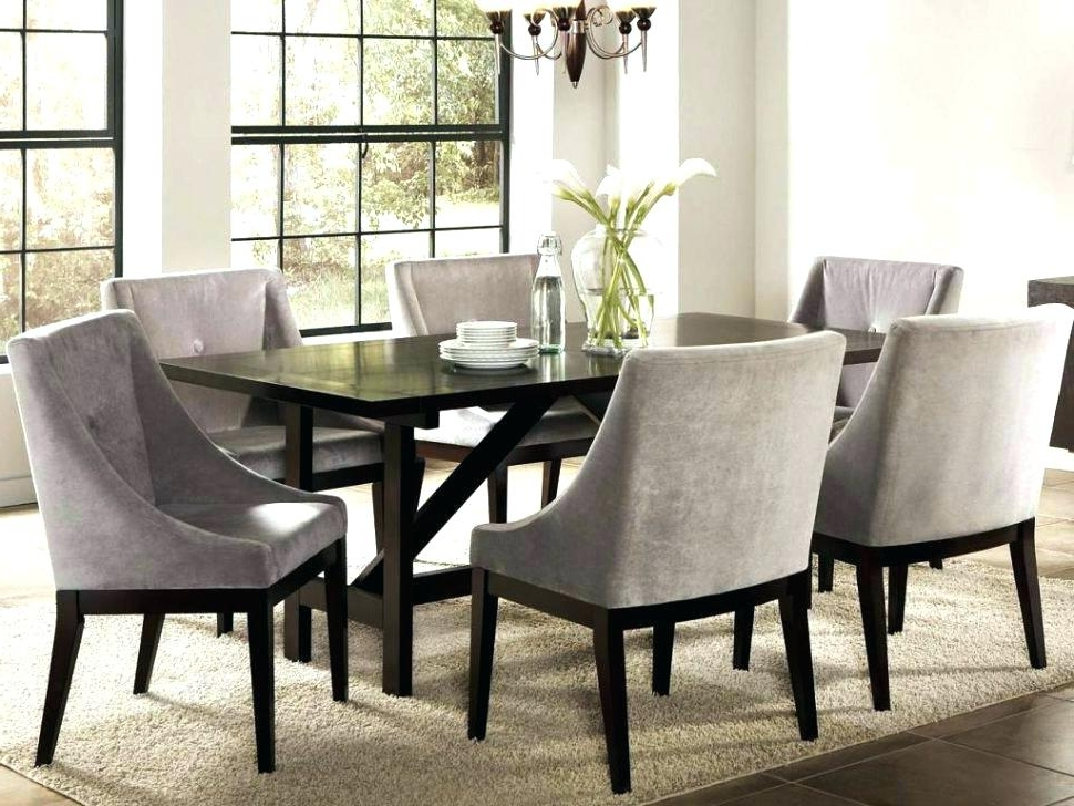 Popular Beech Dining Tables And Chairs With Regard To Dining Room Dining Room Chairs With Armrests Upholstered Dining (View 18 of 20)
