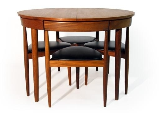 Popular Chapleau Extension Dining Tables Regarding Mid Century Modern Hans Olsen Dining Table And Chairs For Sale In (View 14 of 20)