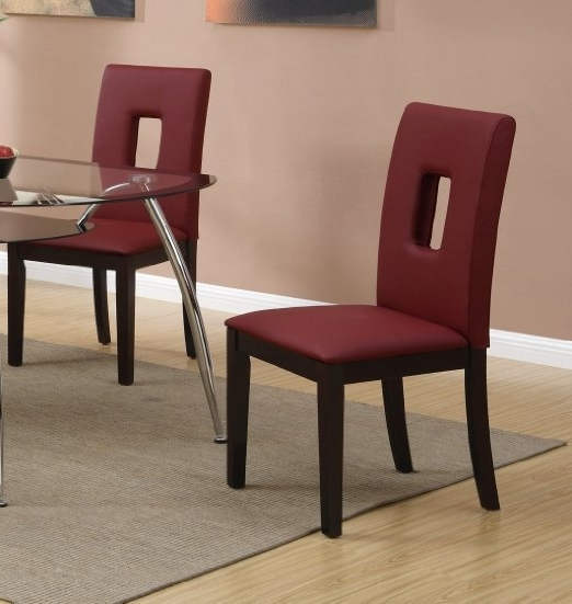 Popular Cheap Red Leather Dining Set, Find Red Leather Dining Set Deals On With Red Leather Dining Chairs (View 12 of 20)