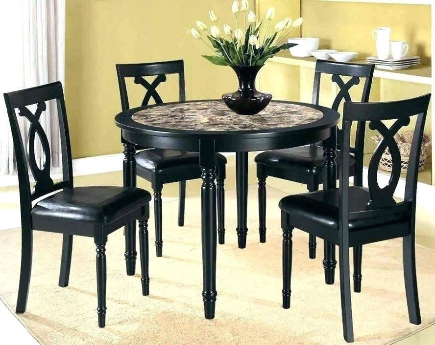 Popular Compact Dining Table Sets Enchanting 2 Dining Table Set Small Dining Regarding Cheap Dining Tables And Chairs (View 14 of 20)