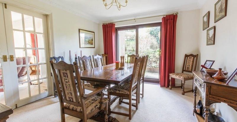 Popular Country Properties For Sale In Hampshire, Andover, Winchester Throughout Partridge 7 Piece Dining Sets (View 16 of 20)