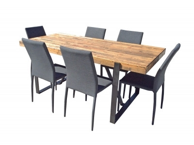 Popular Dining For Leon 7 Piece Dining Sets (View 15 of 20)