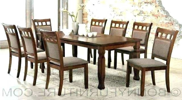 Popular Dining Table For 8 Modern Dining Room Sets For 8 Dining Table And 8 Inside Dining Tables 8 Chairs Set (View 20 of 20)