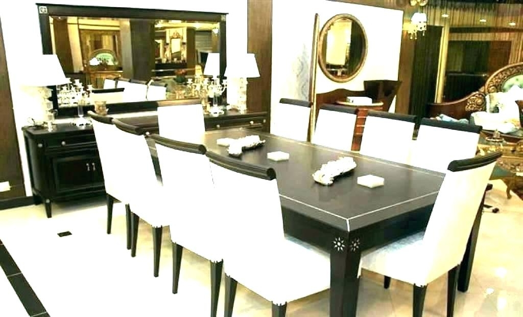 Popular Dining Tables 8 Chairs Set Pertaining To 8 Seat Kitchen Table Round Table 8 Chairs 8 Round Table And Chairs (View 8 of 20)
