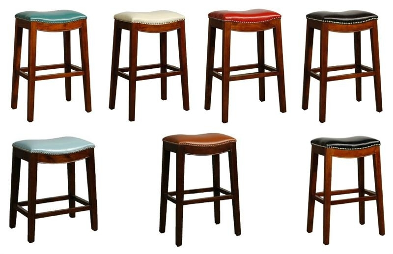 Popular Elmo Bounded Leather Bar Stool Throughout Valencia 4 Piece Counter Sets With Bench & Counterstool (View 9 of 20)