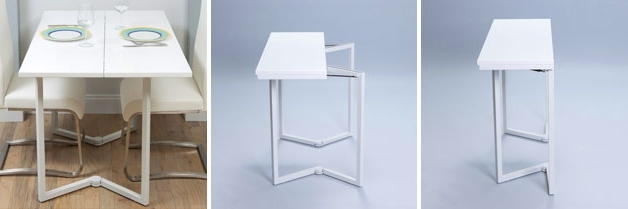 Popular Foldaway Dining Tables For Small Dining Tables For  (View 16 of 20)
