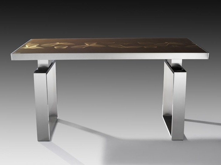 Popular Glass Dining Table China (Mainland) Dining Room Sets With Regard To Glass And Stainless Steel Dining Tables (View 15 of 20)