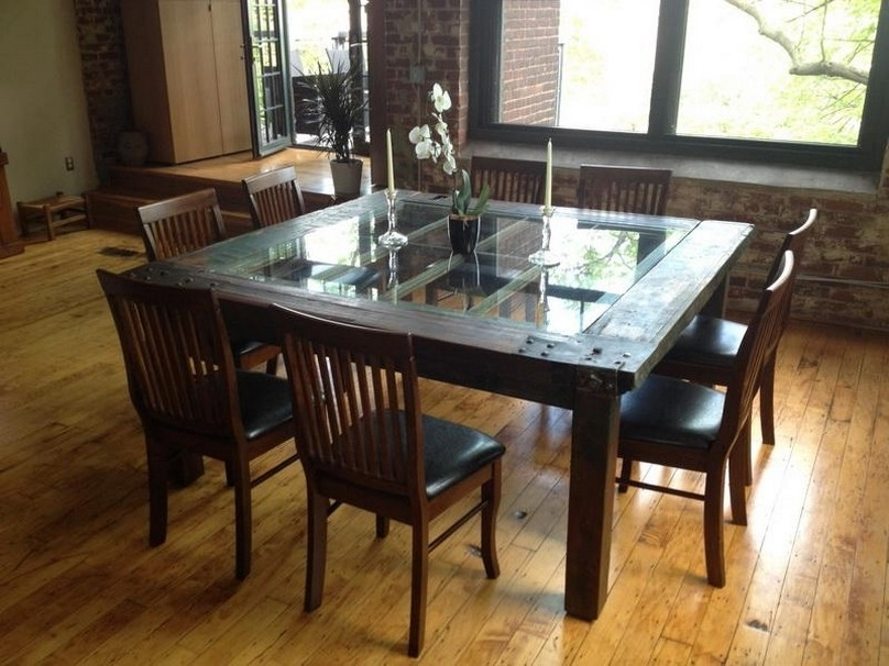 Popular Glass Wood Dining Table Glass And Wood Dining Tables Qjauevn – Home Regarding Wood Glass Dining Tables (View 16 of 20)