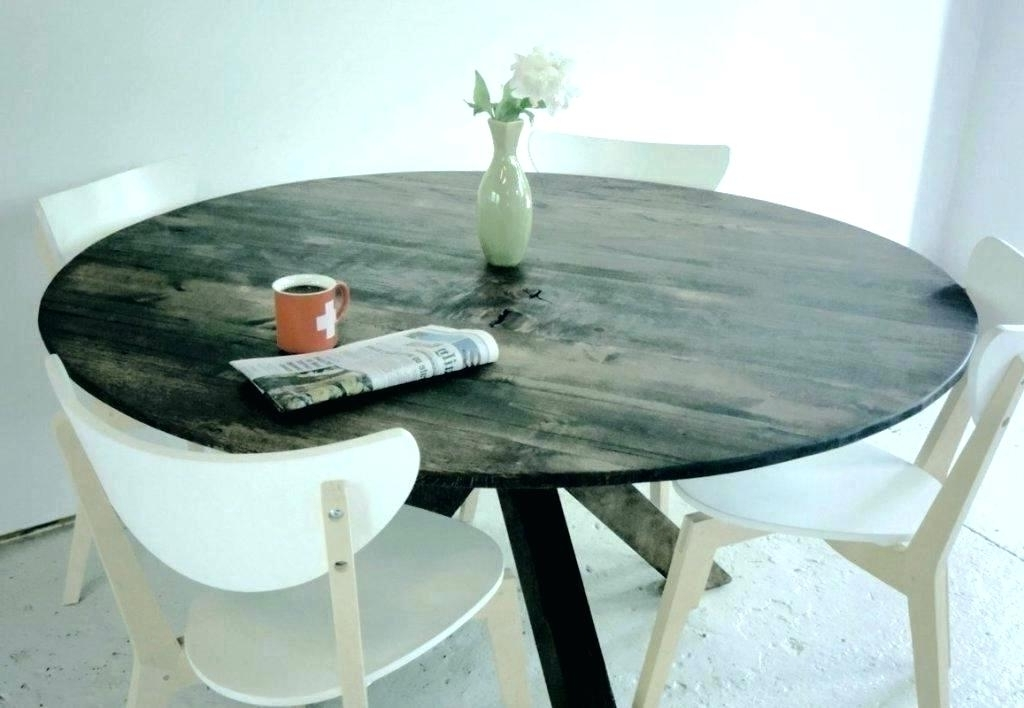 Popular Helms Round Dining Tables With Regard To Grey Wood Round Dining Table Grey Round Table Modern Rustic Round (View 18 of 20)