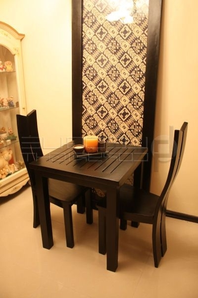 Popular Lufe Dining Table 2 Seater Dining Chairs (View 10 of 20)