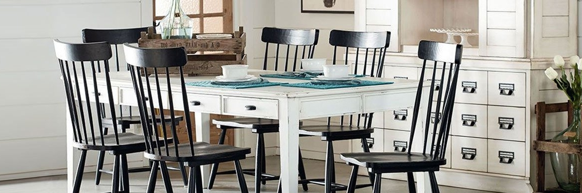 Featured Photo of Magnolia Home Taper Turned Jo's White Gathering Tables