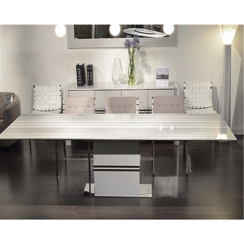 Popular Marble Dining Sets Inside Extending Marble Dining Tables (View 13 of 20)