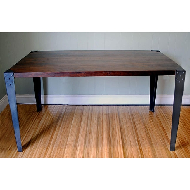 Popular Modern Solid Wood Dining Table (View 15 of 20)