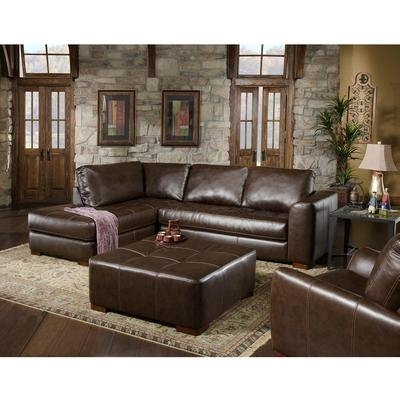 Popular Norfolk Chocolate 3 Piece Sectionals With Laf Chaise Inside Sectionals At Stanley's Home Furnishings (View 12 of 15)