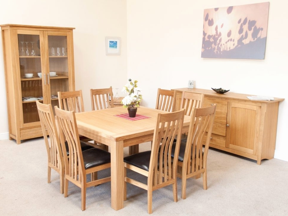Popular Oak Dining Tables And 8 Chairs With Oak Dining Table 8 Chairs New Inspirational Dining Table And Chairs (View 10 of 20)