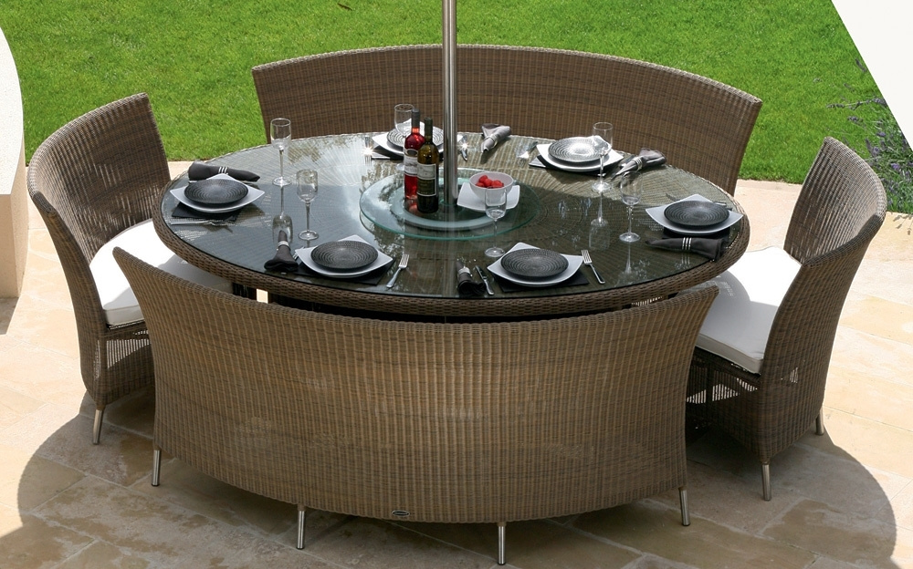 Popular Patio: Inspiring Patio Tables And Chairs Patio Dining Sets, Tall Within Garden Dining Tables And Chairs (View 18 of 20)