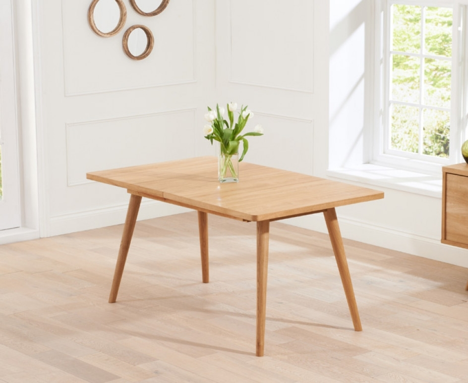 Popular Retro Extending Dining Tables Intended For Tivoli 150Cm Retro Oak Extending Dining Table (View 10 of 20)