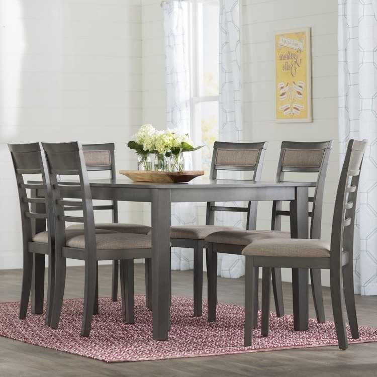 Popular Rocco 7 Piece Extension Dining Sets Throughout Simple Living Farmhouse 5 Or 7 Piece Oak (brown) Dining Se (View 17 of 20)