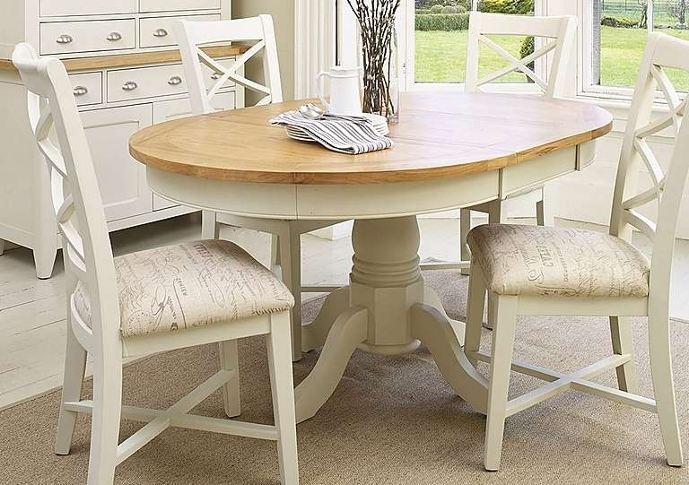 Popular Round Extending Dining Table Sets Circular Extending Dining Table Throughout Circular Extending Dining Tables And Chairs (View 11 of 20)