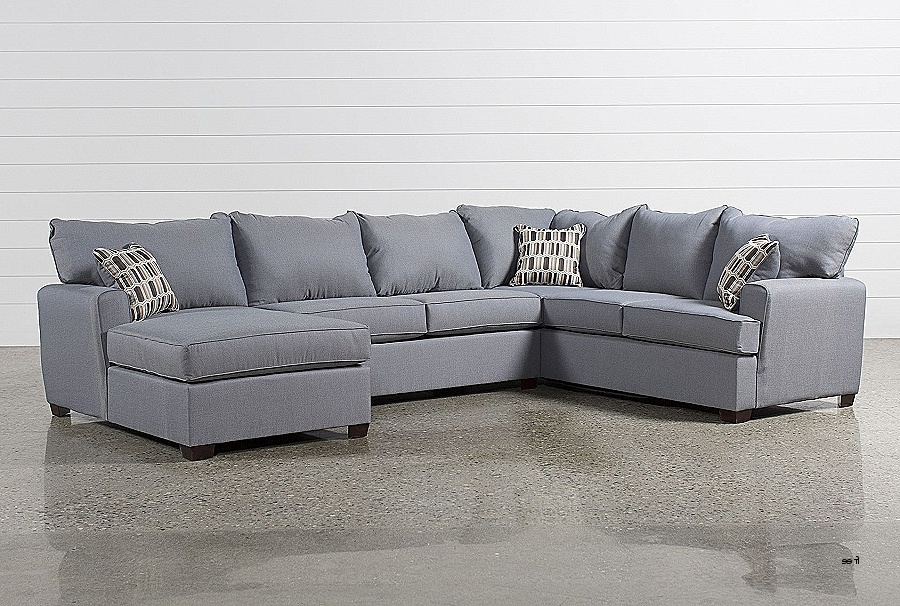 Popular Sectional Sofas. Best Of 2 Piece Sectional Sofa With Chaise: 2 Piece In Aquarius Light Grey 2 Piece Sectionals With Raf Chaise (Gallery 7 of 15)