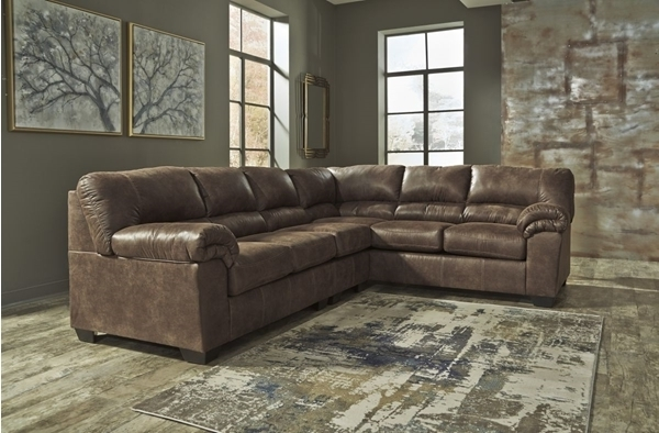 Popular Sierra Foam Ii 3 Piece Sectionals In Bladen Coffee 3 Piece Left Arm Facing Sectional – Sectionals (View 6 of 15)