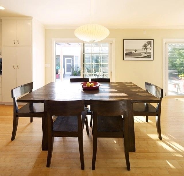Popular Square Extendable Dining Tables Intended For Extendable Square Dining Tables Contemporary Dining Room (View 4 of 20)