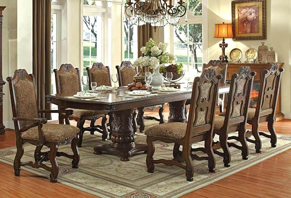 Popular Traditional Dining Room Sets For Sale Interesting Cheap Dining Within Traditional Dining Tables (View 6 of 20)