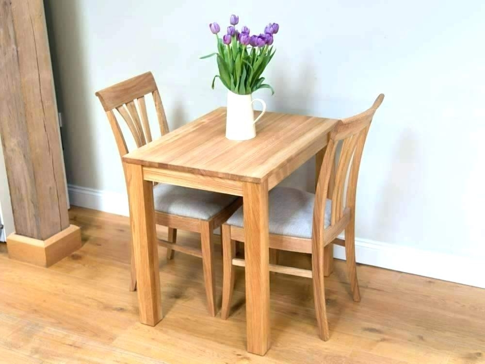 Popular Two Chair Dining Tables Regarding 6 Seater Table And Chairs 8 Sizes 10 Cloth Dining Tables Two Small (View 9 of 20)