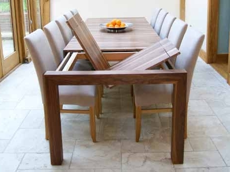 Popular Walnut Dining Tables Regarding Contemporary Dining Tables Oak & Walnut (View 11 of 20)