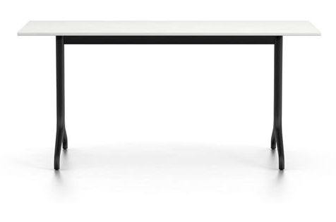 Popular White Melamine Dining Tables For Belleville Rectangular Dining Table Melamine Whitevitra Clippings (View 10 of 20)