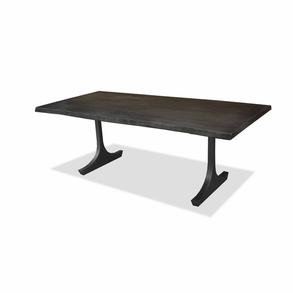 Portland 78 Inch Dining Tables Inside Well Known Shop Portland Live Edge Honey Finish Dining Table – Free Shipping (View 10 of 20)
