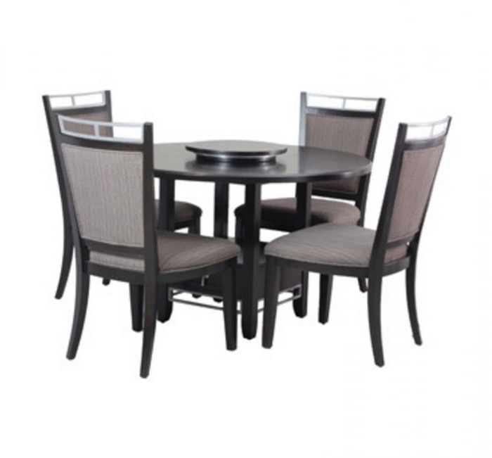 Powell Caden 5 Piece Dining Set For Latest Caden 6 Piece Rectangle Dining Sets (View 19 of 20)