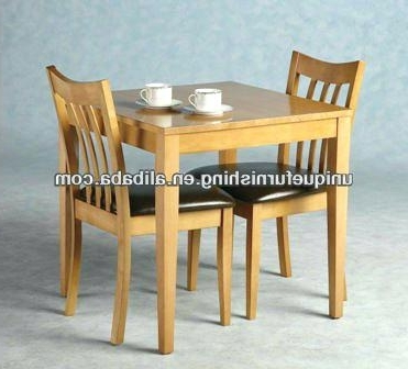 Precious Dining Room Sets For 2 – Dining Room Design Ideas Inside Most Popular Dining Table Sets For  (View 13 of 20)